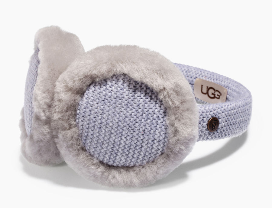 65ec1a435c8d CHEAP UGG KIDS  KNIT EARMUFF GREY HEATHER M ONLINE