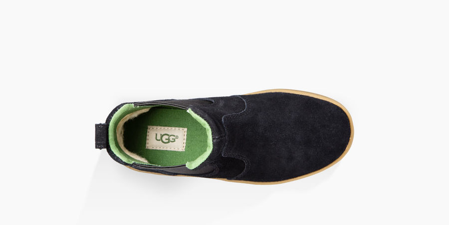 CHEAP UGG KIDS\' HAMDEN BLACK ONLINE