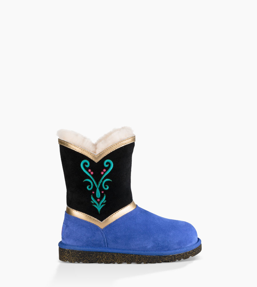 CHEAP UGG TODDLERS ANNA CORONATION CORONATION BLUE ONLINE