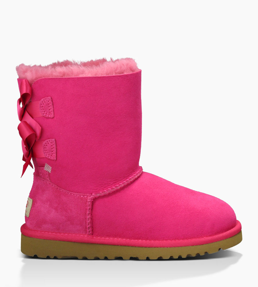 CHEAP UGG TODDLER'S BAILEY BOW CERISE ONLINE