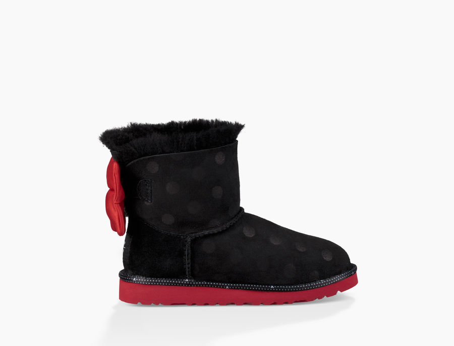 CHEAP UGG TODDLER'S SWEETIE BOW BLACK ONLINE