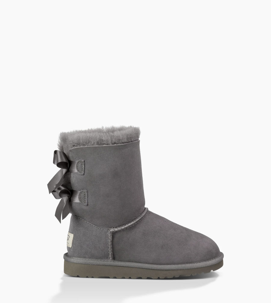 CHEAP UGG TODDLER'S BAILEY BOW GREY ONLINE