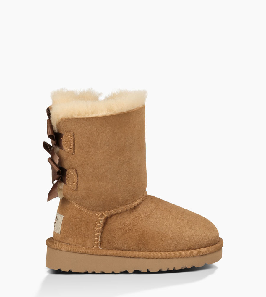 CHEAP UGG TODDLER'S BAILEY BOW CHESTNUT ONLINE