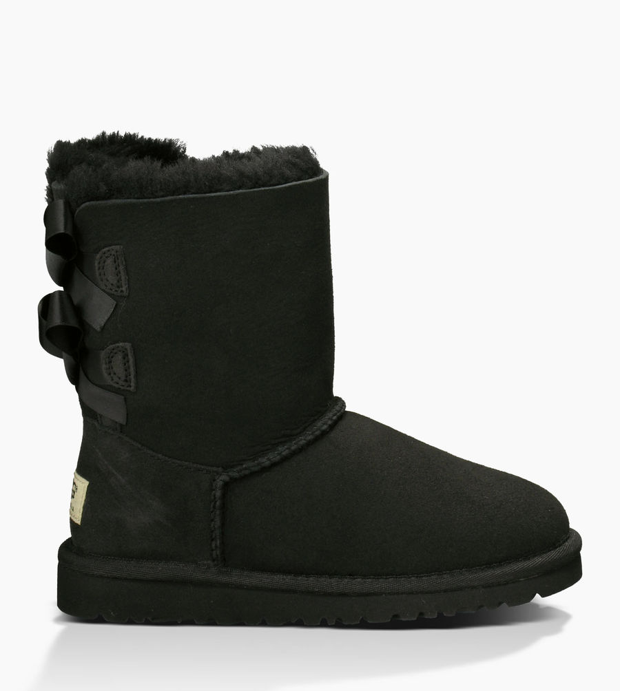 CHEAP UGG TODDLER'S BAILEY BOW BLACK ONLINE