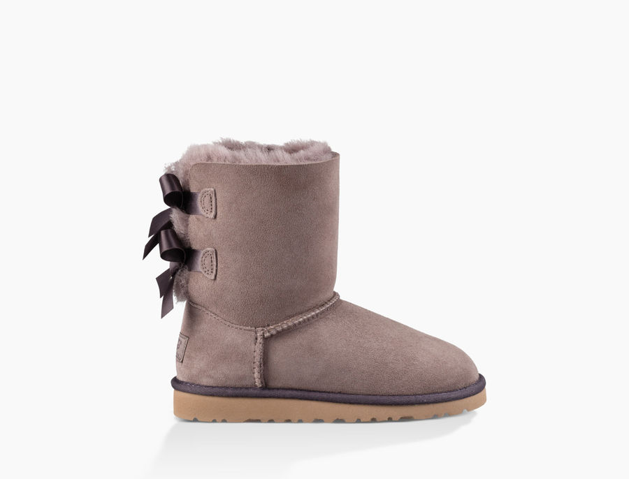 CHEAP UGG TODDLER'S BAILEY BOW STORMY GREY ONLINE