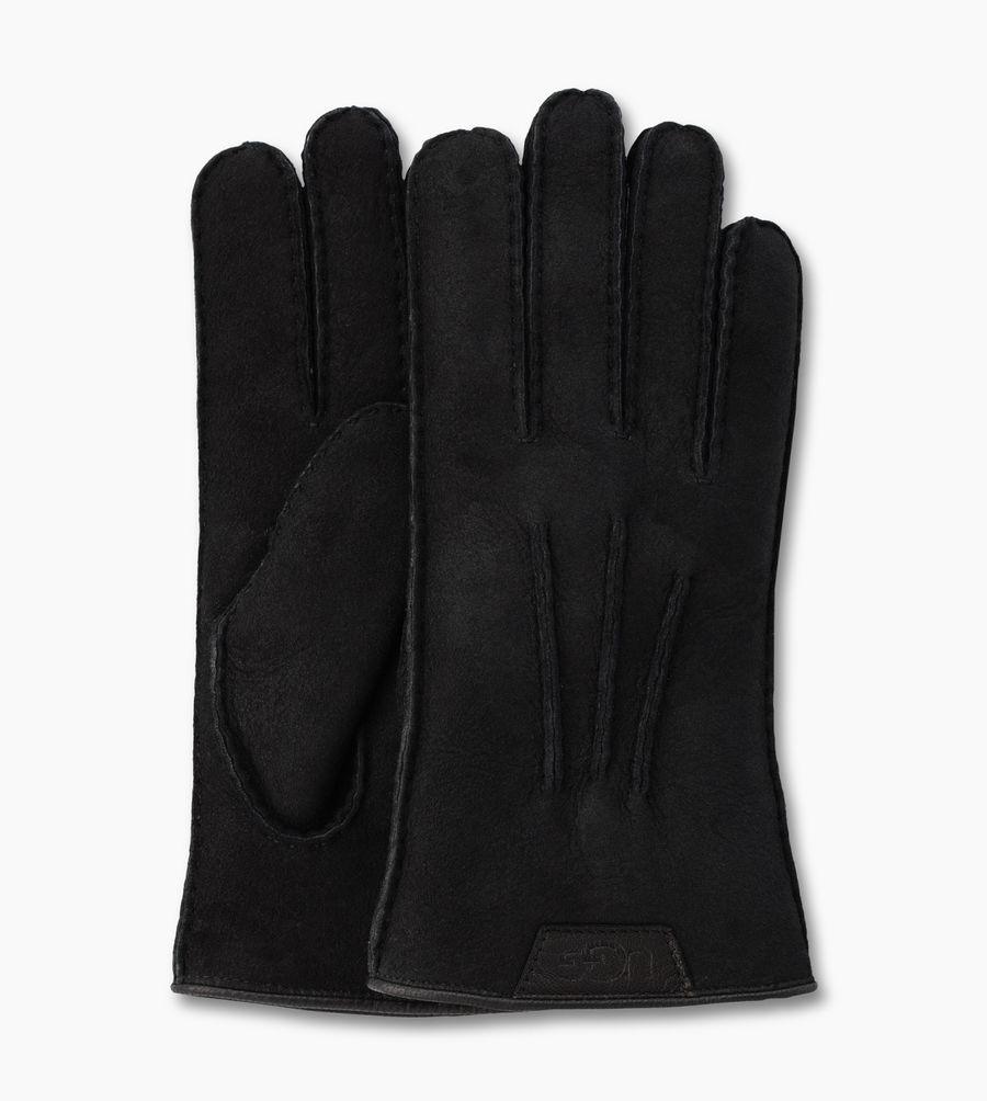 CHEAP UGG MEN'S CASUAL GLOVE BLACK ONLINE