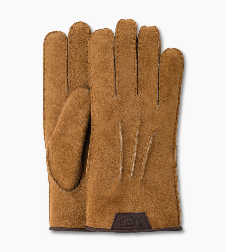 CHEAP UGG MEN'S CASUAL GLOVE CHESTNUT ONLINE