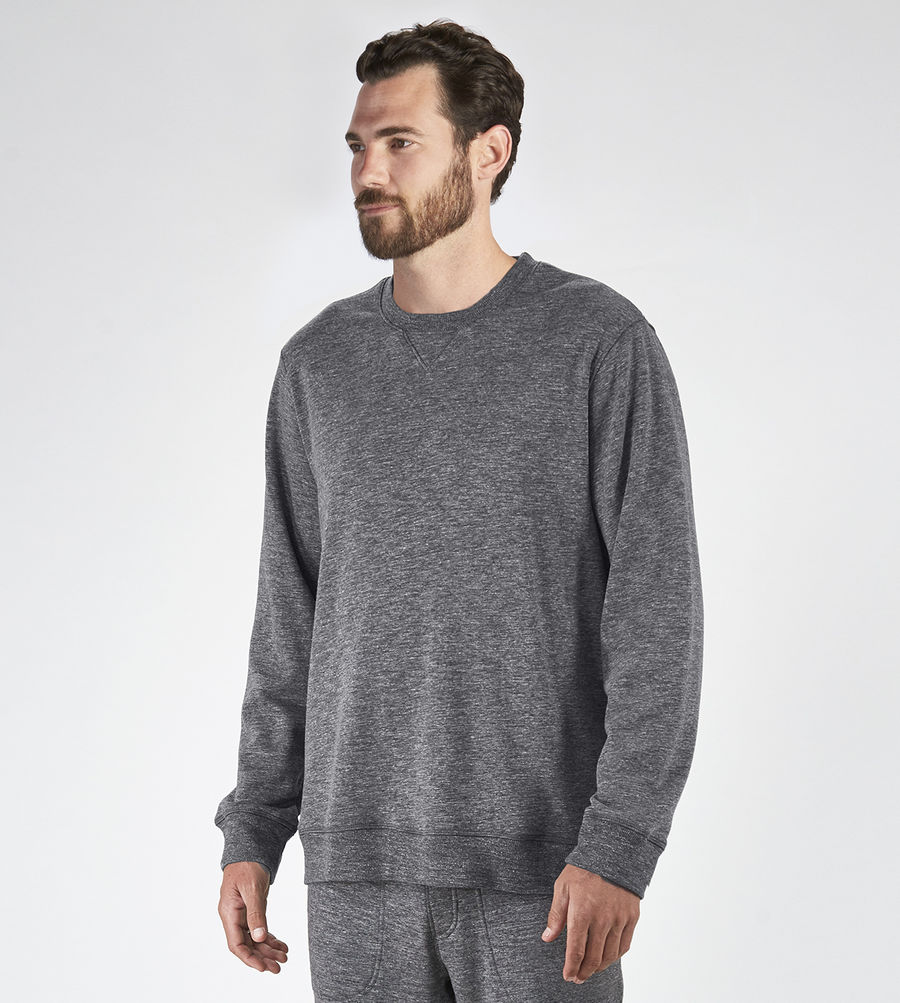 CHEAP UGG MEN'S ERIK SWEATSHIRT GRANITE HEATHER ONLINE