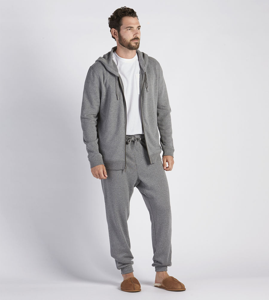 CHEAP UGG MEN'S GAGE HOODIE CHARCOAL HEATHER ONLINE