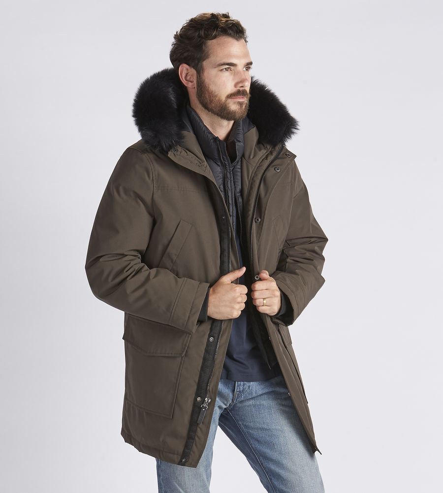 CHEAP UGG MEN'S BUTTE PARKA DARK OLIVE ONLINE