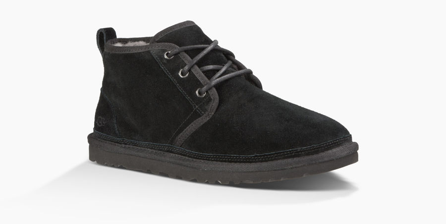 CHEAP UGG MEN'S NEUMEL BLACK ONLINE