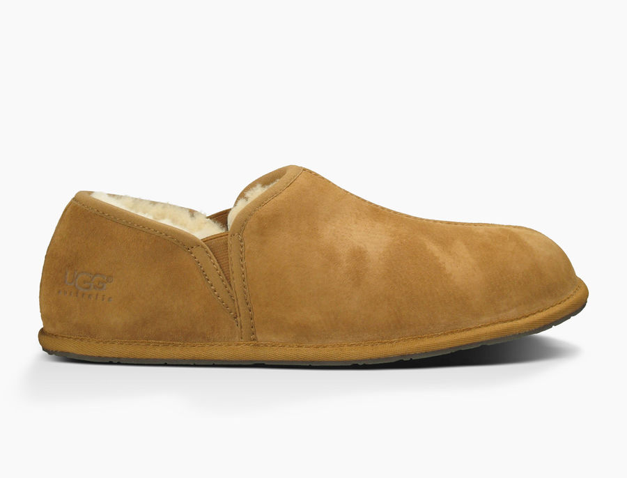 CHEAP UGG MEN'S SCUFF ROMEO II CHESTNUT ONLINE