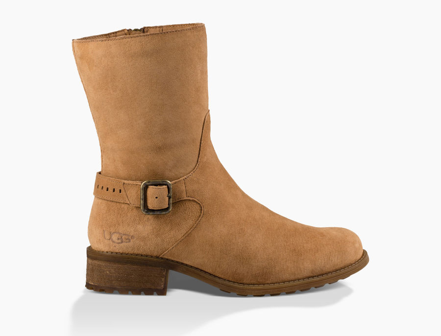 CHEAP UGG WOMEN'S KEPPLER SUEDE CHESTNUT ONLINE