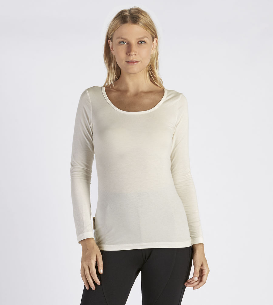 CHEAP UGG WOMEN'S NITA LONG SLEEVE T-SHIRT CREAM ONLINE