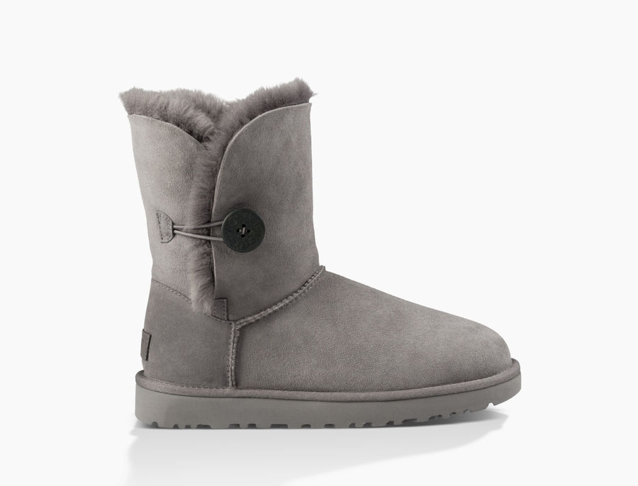 CHEAP UGG WOMEN'S BAILEY BUTTON II GREY ONLINE