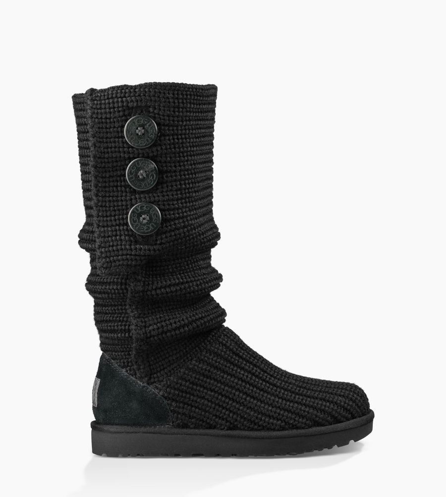 CHEAP UGG WOMEN'S CLASSIC CARDY BLACK ONLINE