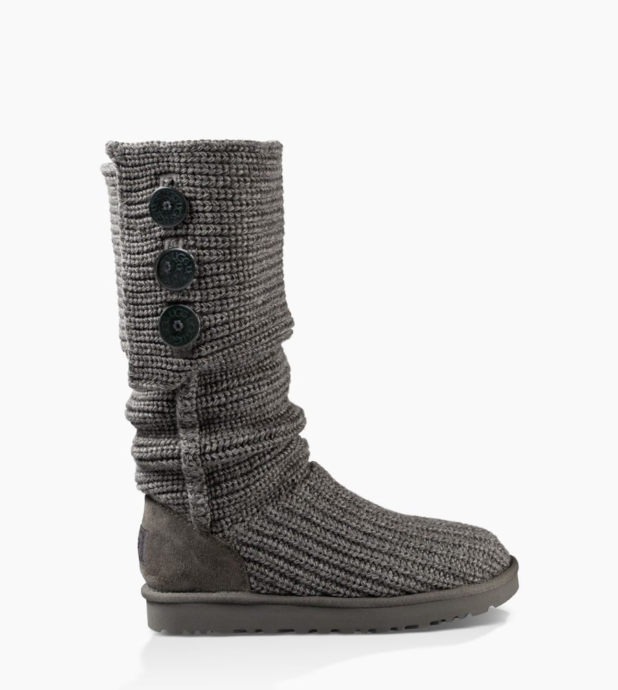 CHEAP UGG WOMEN'S CLASSIC CARDY GREY ONLINE